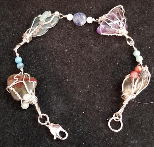 Custom-made bracelets. Every one unique.