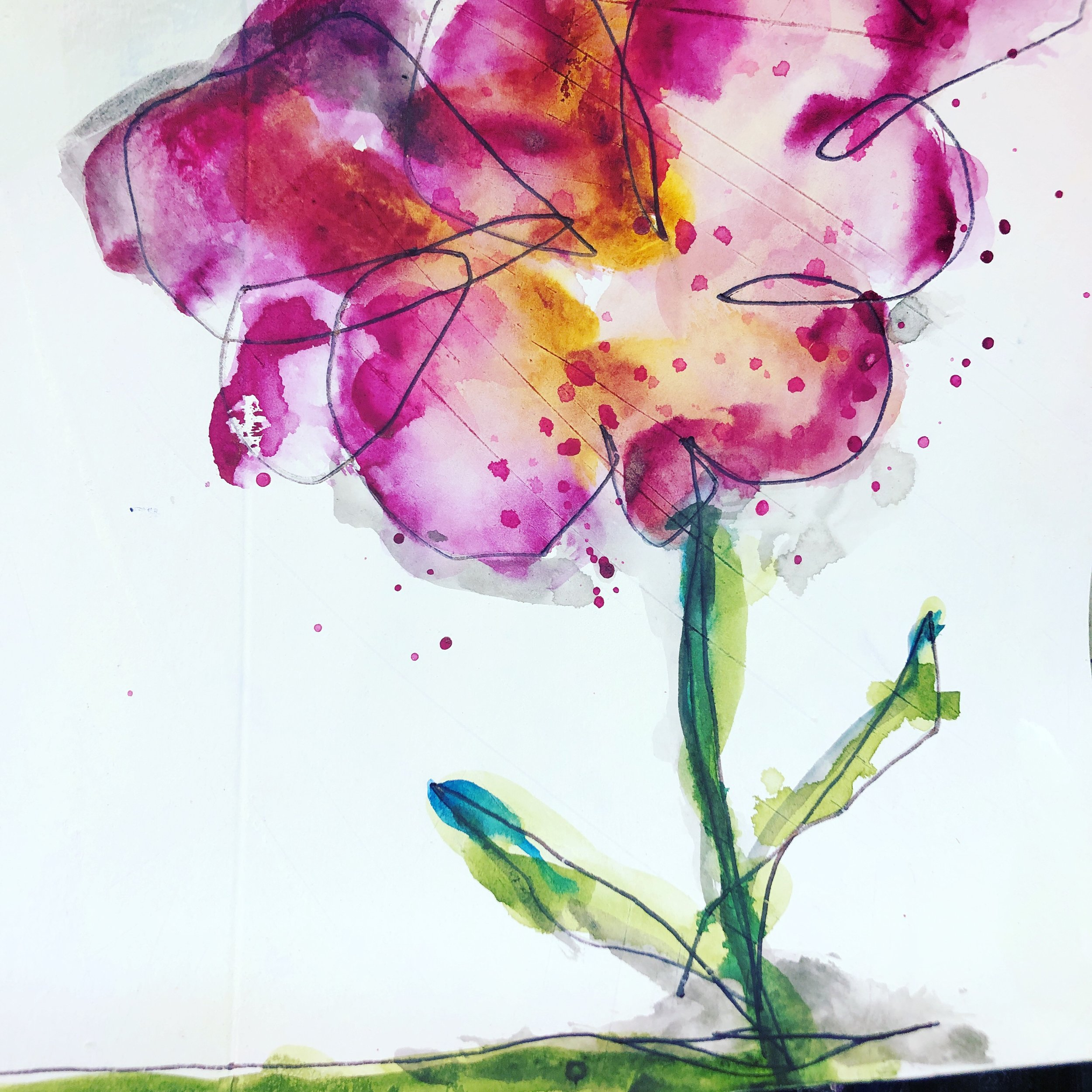 watercolor flower_alteredstatesstudio.JPG