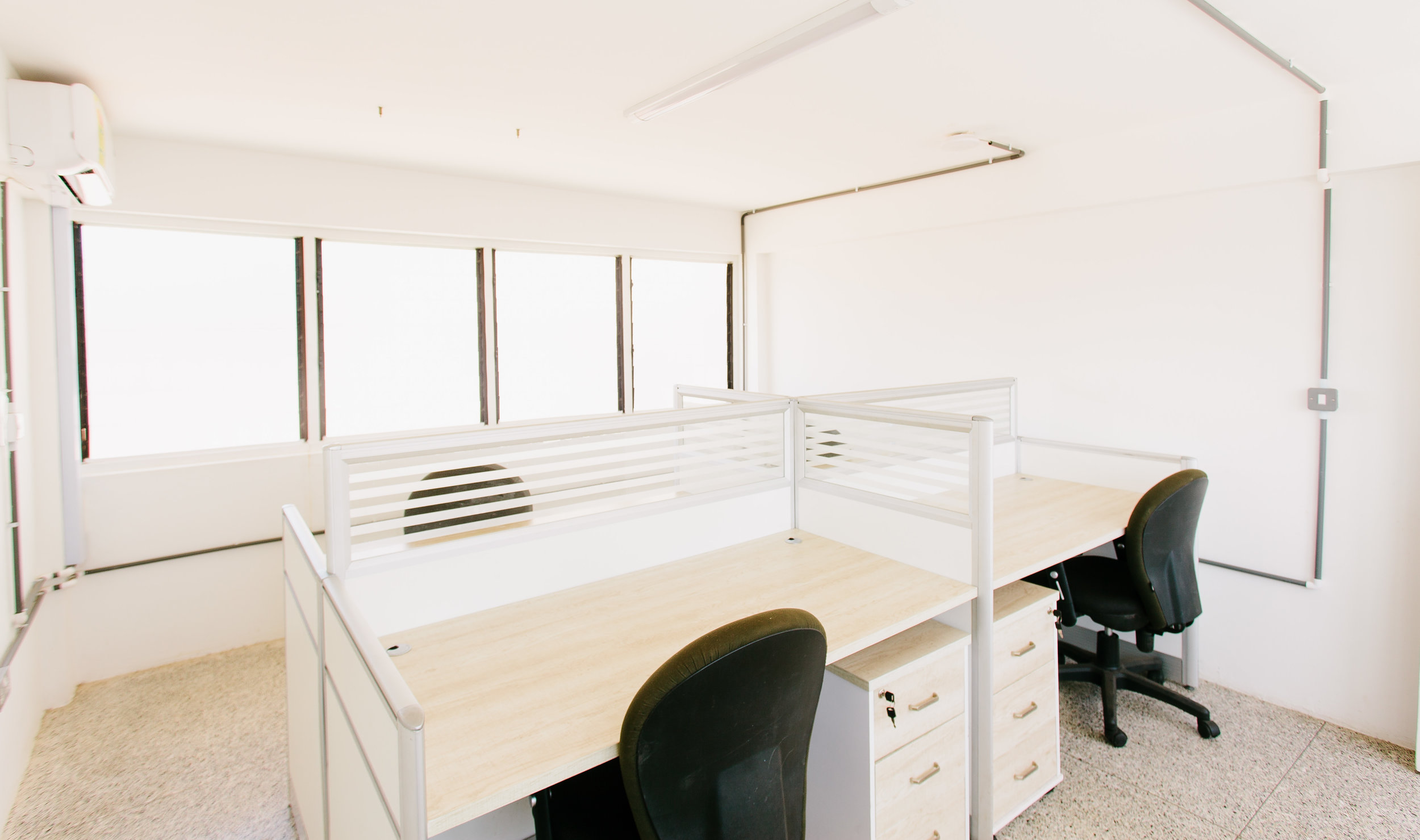 private office - - $750/month + 1 months security deposit- Furnished, air-conditioned private office for your company.- Free use of meeting room 3 hours x month bookable in advance- All utilities included (internet, back up generator, security, cleaning, water and electricity)- Payable monthly in advance (discount available if take for 3 months advance)- 1 Month Security Deposit required