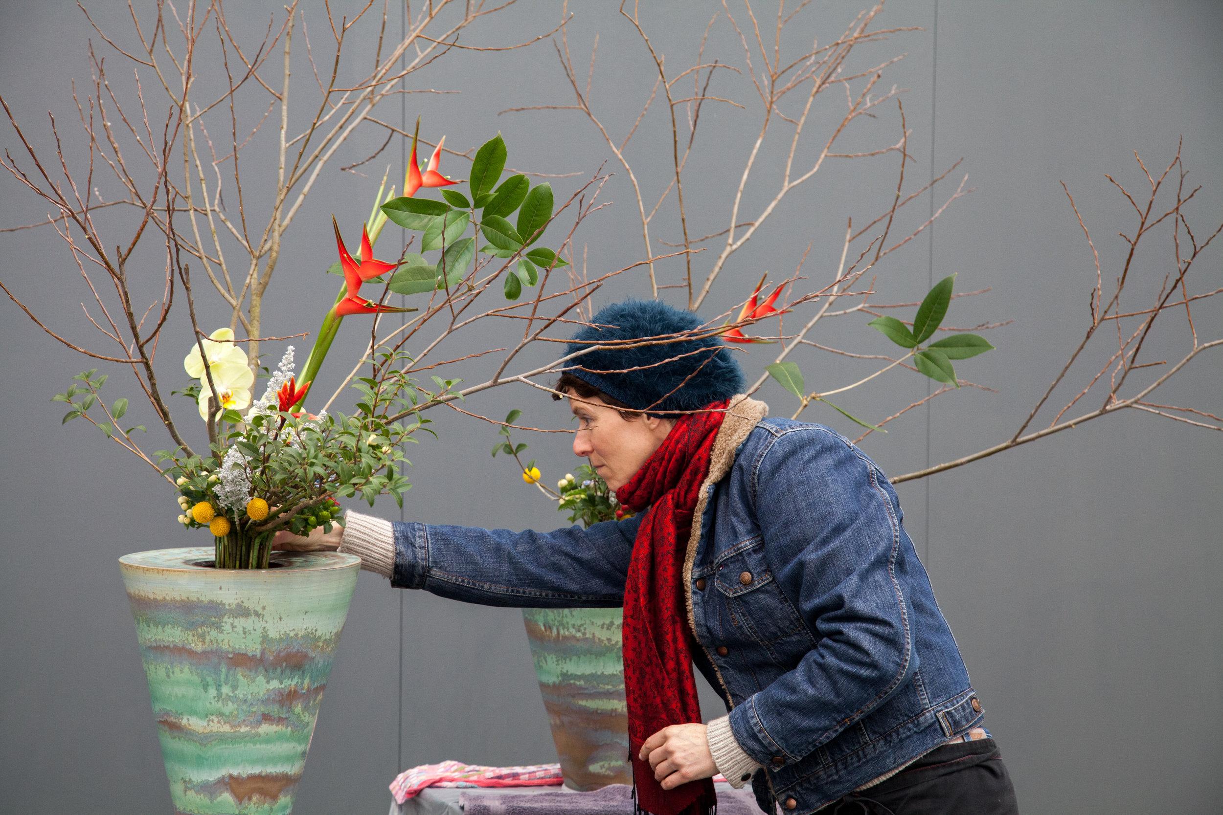Gentse Floralien ikenobo belgie prep rikka EC - BH.jpg
