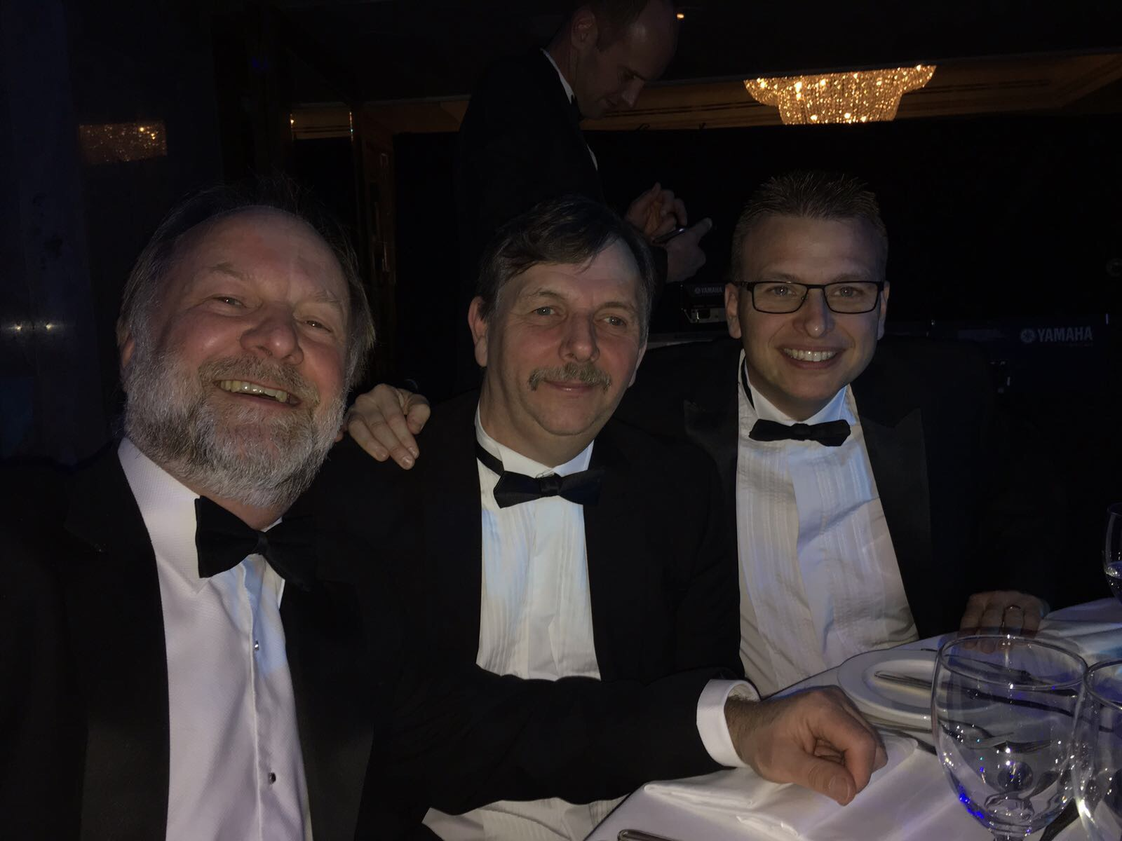 [Pictured Left to Right] Bill Pilkington (Sales Manager), David Dawson (Service Manager) & Philip Birchall (Managing Director)