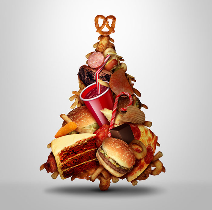 People eat a lot of junk food especially during the holidays, so there is a pretty toxic load within the system.