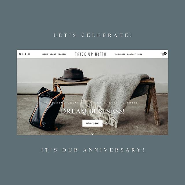 It's our first year anniversary at @tribeupnorth 🎊🥂 . Where did that time go?! I cannot express how much I've learned and grown in the past year. It all started with my initial launch when I asked for 5 clients and got 19! What?! . Clients who have invited me into your dream business, colleagues who have crazy supported me, and family who have encouraged my dreams... THANK YOU! . This first year is nothing compared to this next one. Big things ahead and to celebrate i'm giving YOU an anniversary gift as a token of gratitude and appreciation! . So check out my story for all the details!! 😍