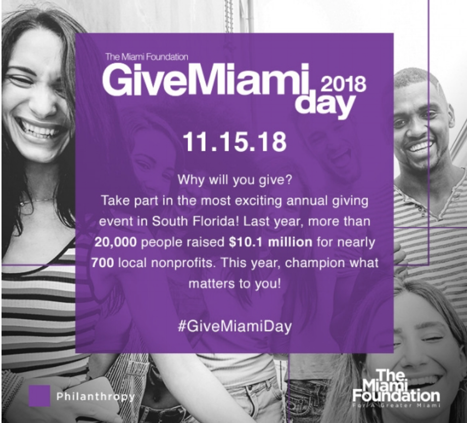Give Miami Day 2018 -