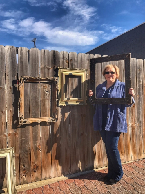 Marcia Hahn one of the featured Artist of Framing Festus, 2018
