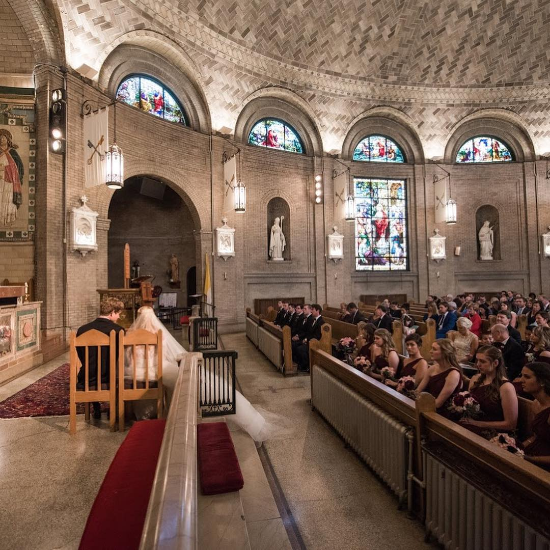 First Communion at St. Lawerence Basilica in Asheville, NC