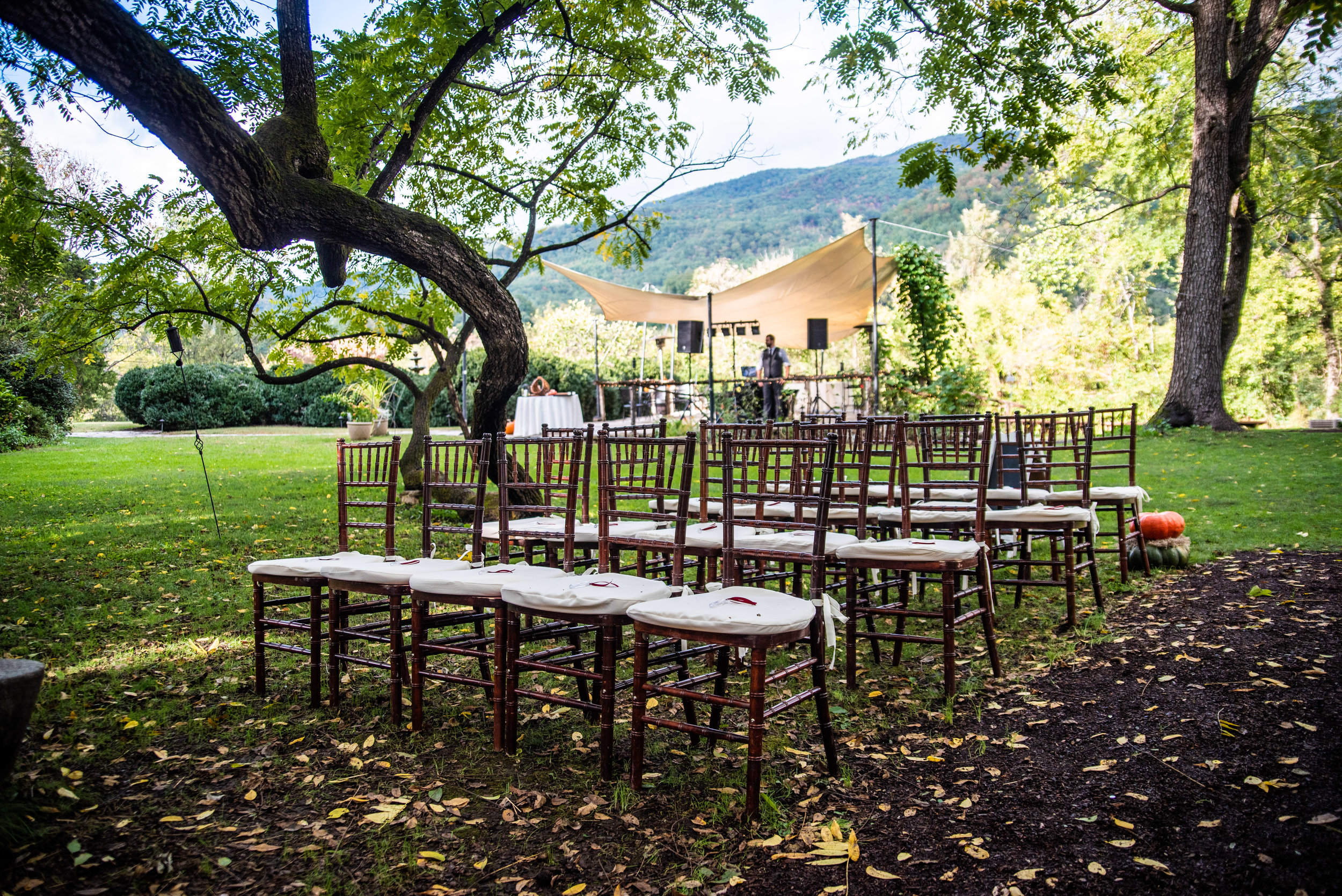 Tip #3 Chairs - Are they included in the venue fee? What do they look like? Are there chairs not included, but nicer ones than the included ones on site available for rent? What if the chairs available don't fit the aesthetic of the event, are outside rentals allowed? Are there chairs available with a cushioning for the guests?
