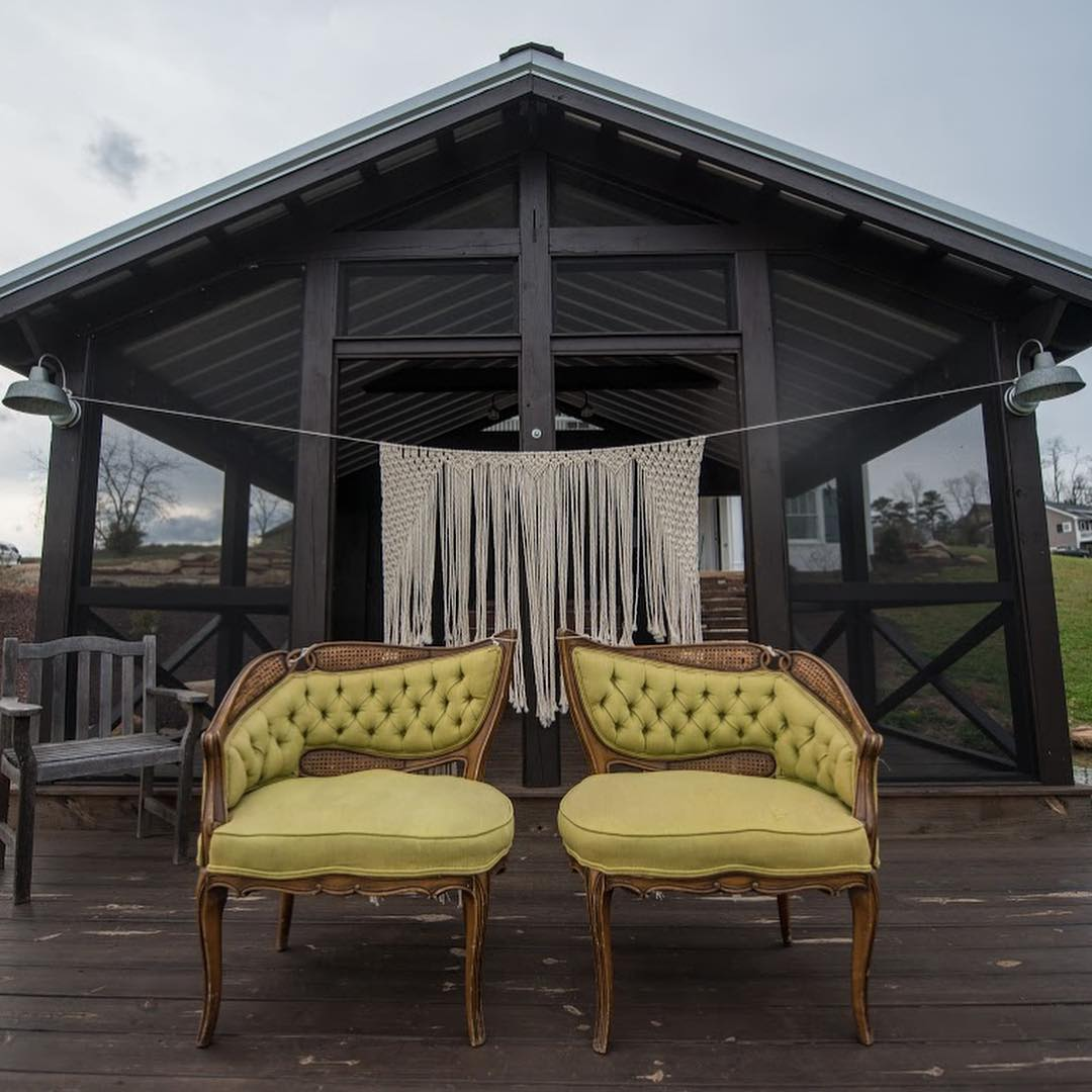 Ridgeview Venue Boathouse for Intimate Wedding in Asheville, NC