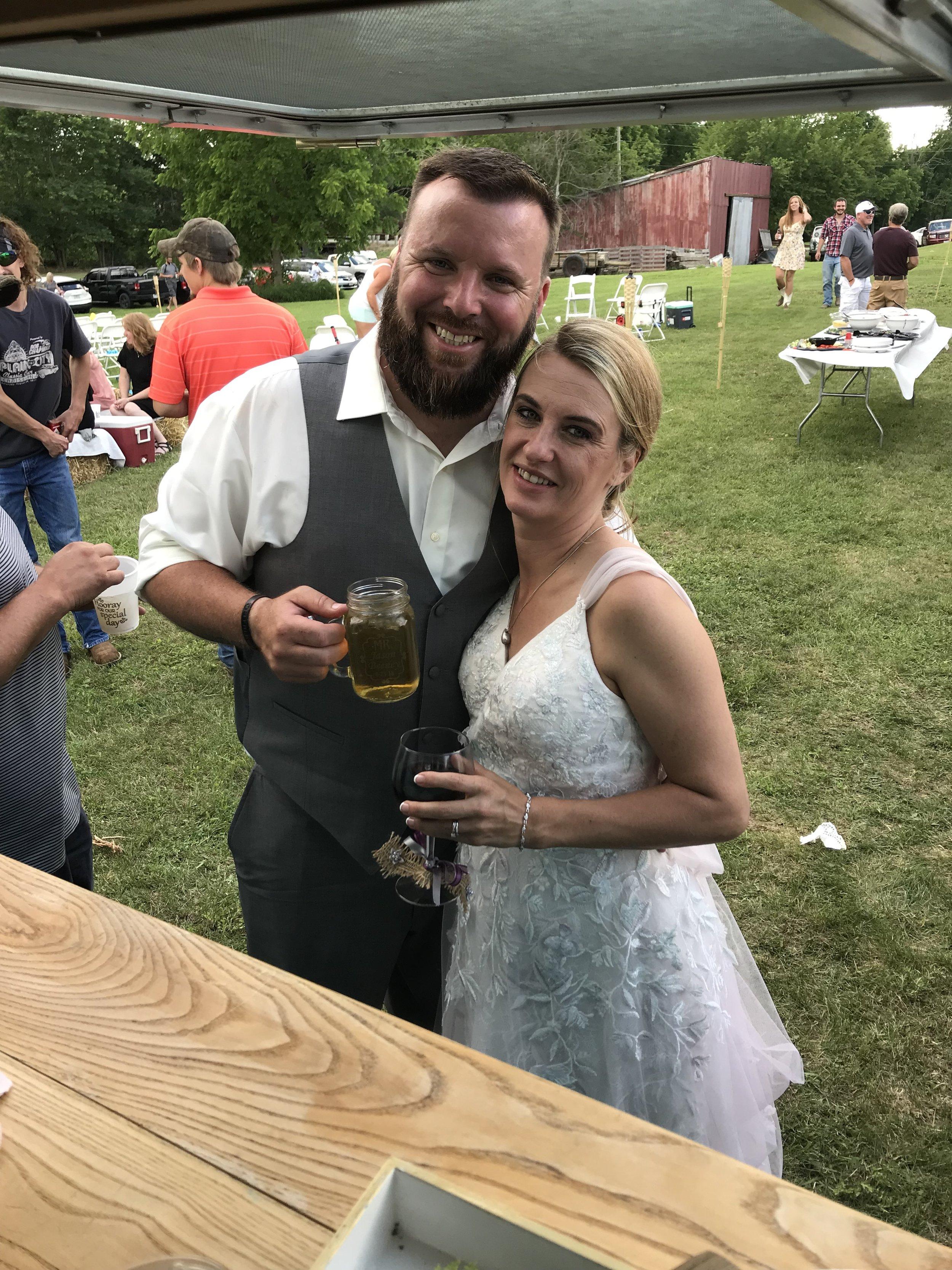 Wedding of Sarah and Jason