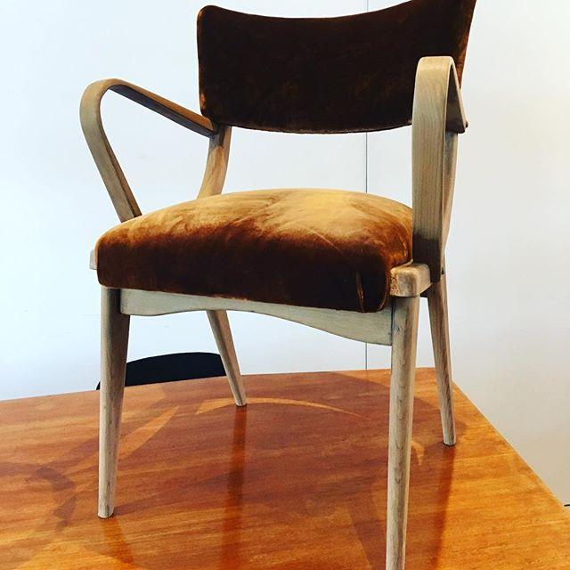 #instore #comeandsee #vintage #bronze #velvet #midcenturymodern