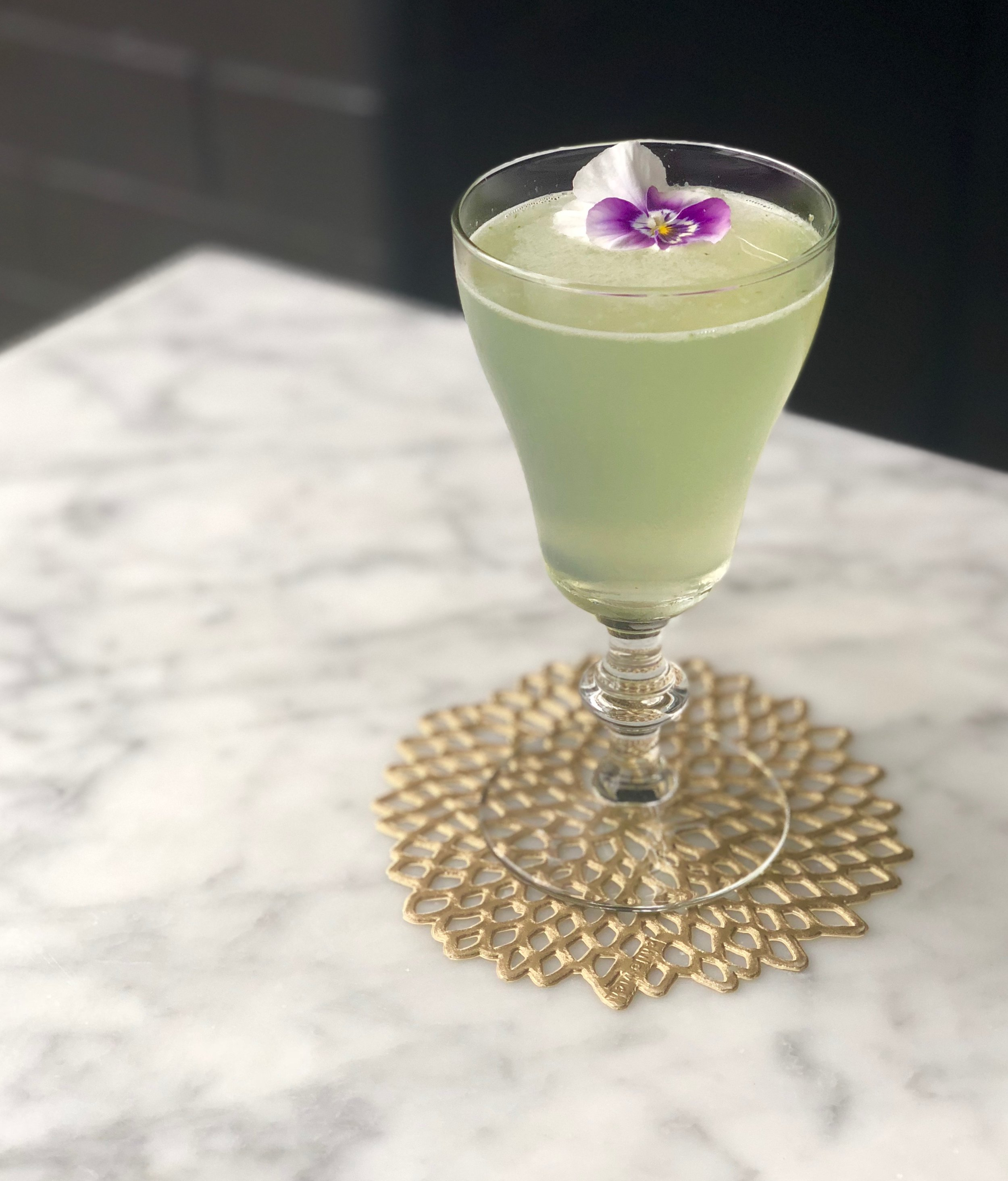 Green Jacket cocktail made with Wheatley Vodka
