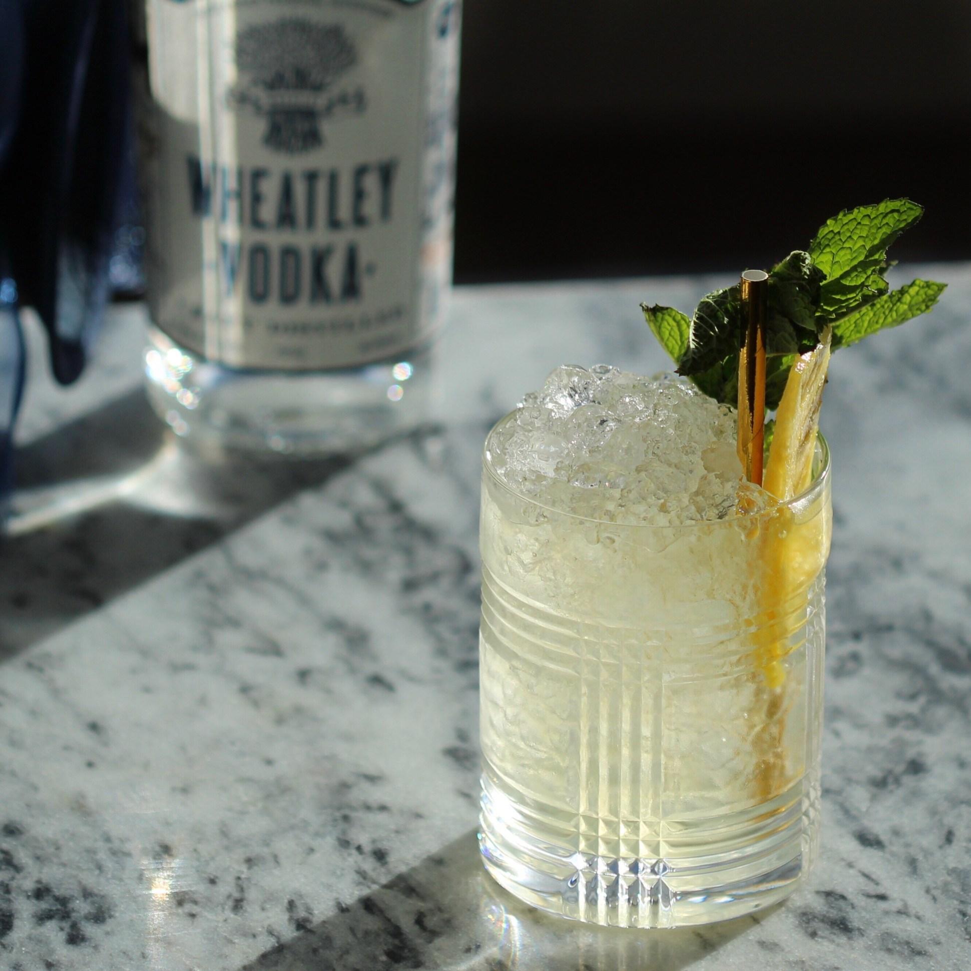 wheatley vodka pineapple mint julep -