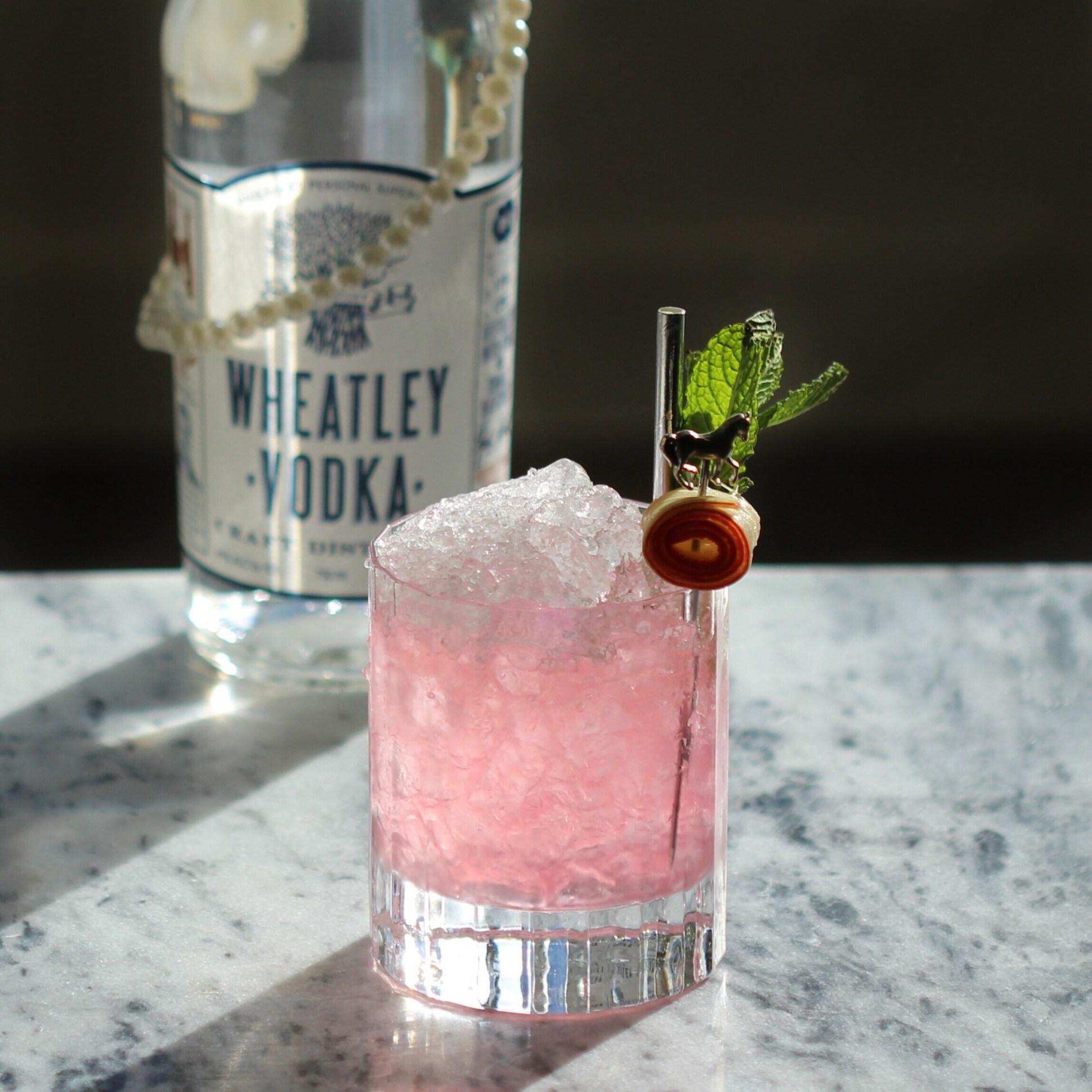 Wheatley vodka rhubarb mint julep -