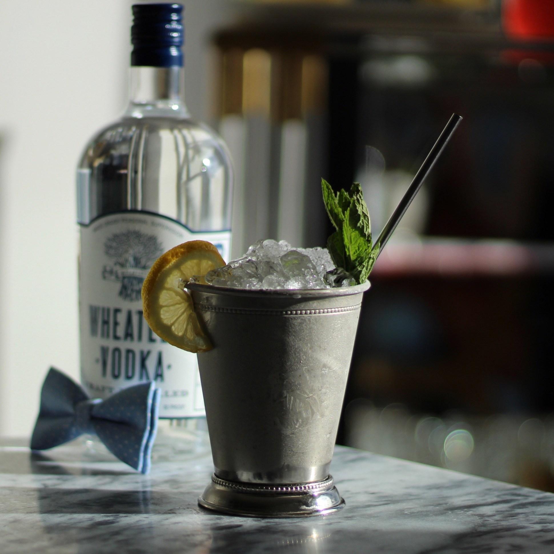 wheatley vodka sweet tea mint julep -