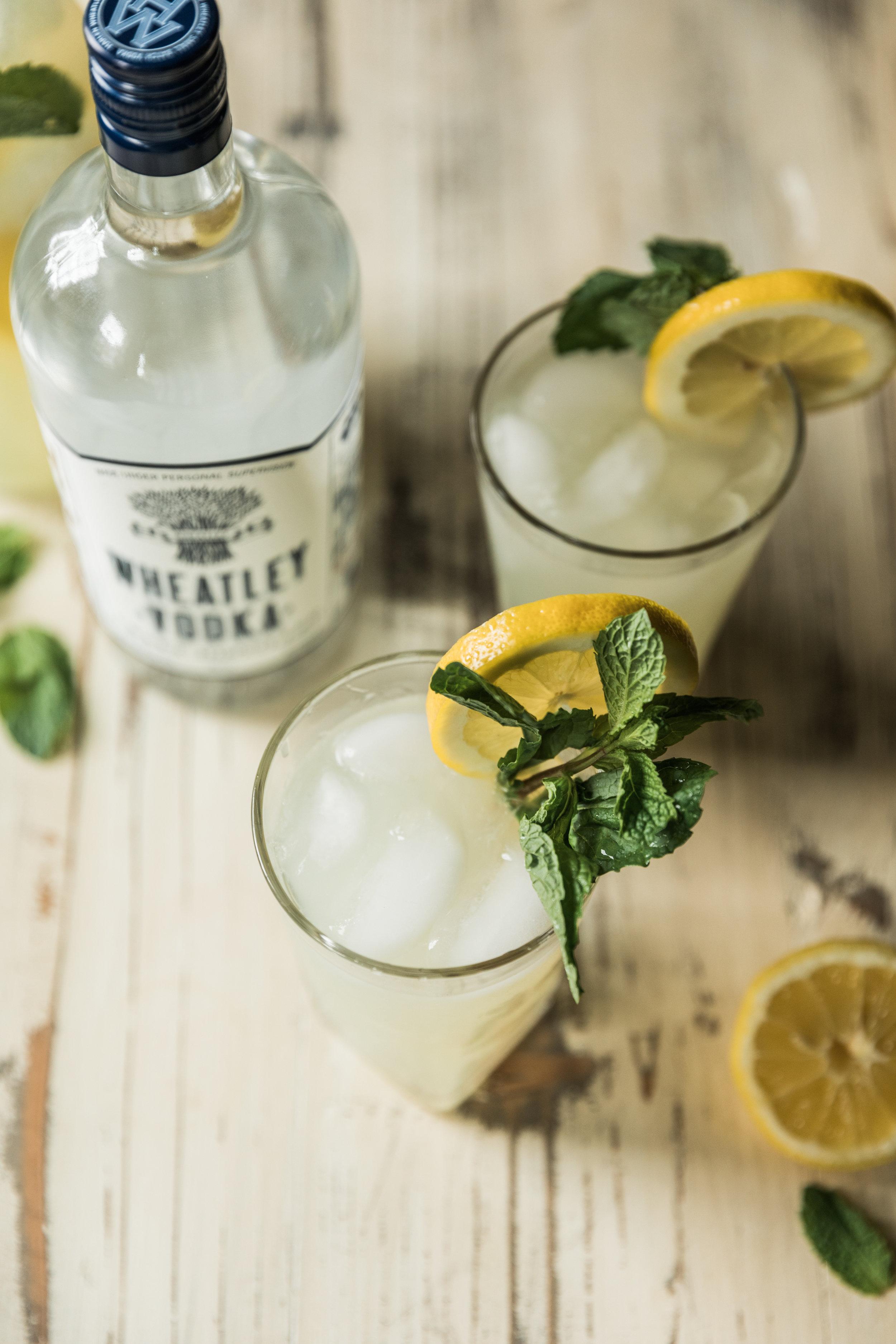 wheatley vodka mint lemonade -