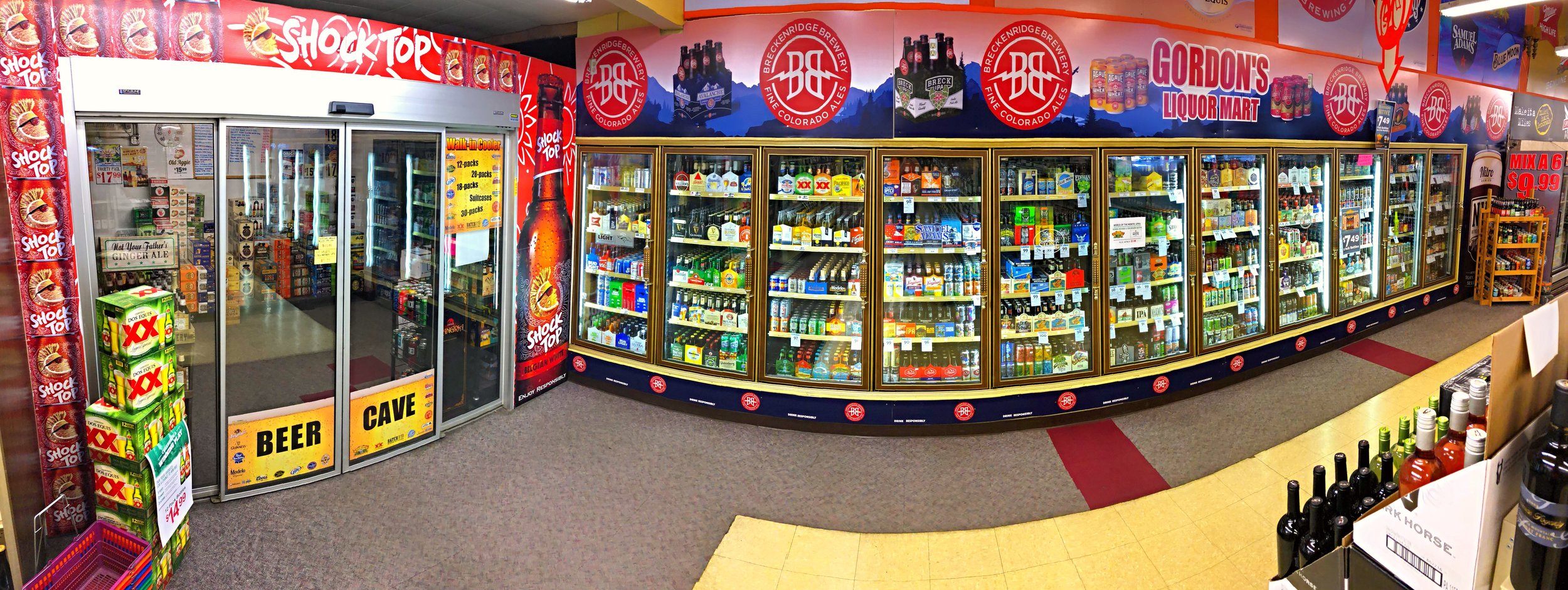 WE CARRY A WIDE ARRAY OF BEER:    CRAFT, DOMESTIC & IMPORTED