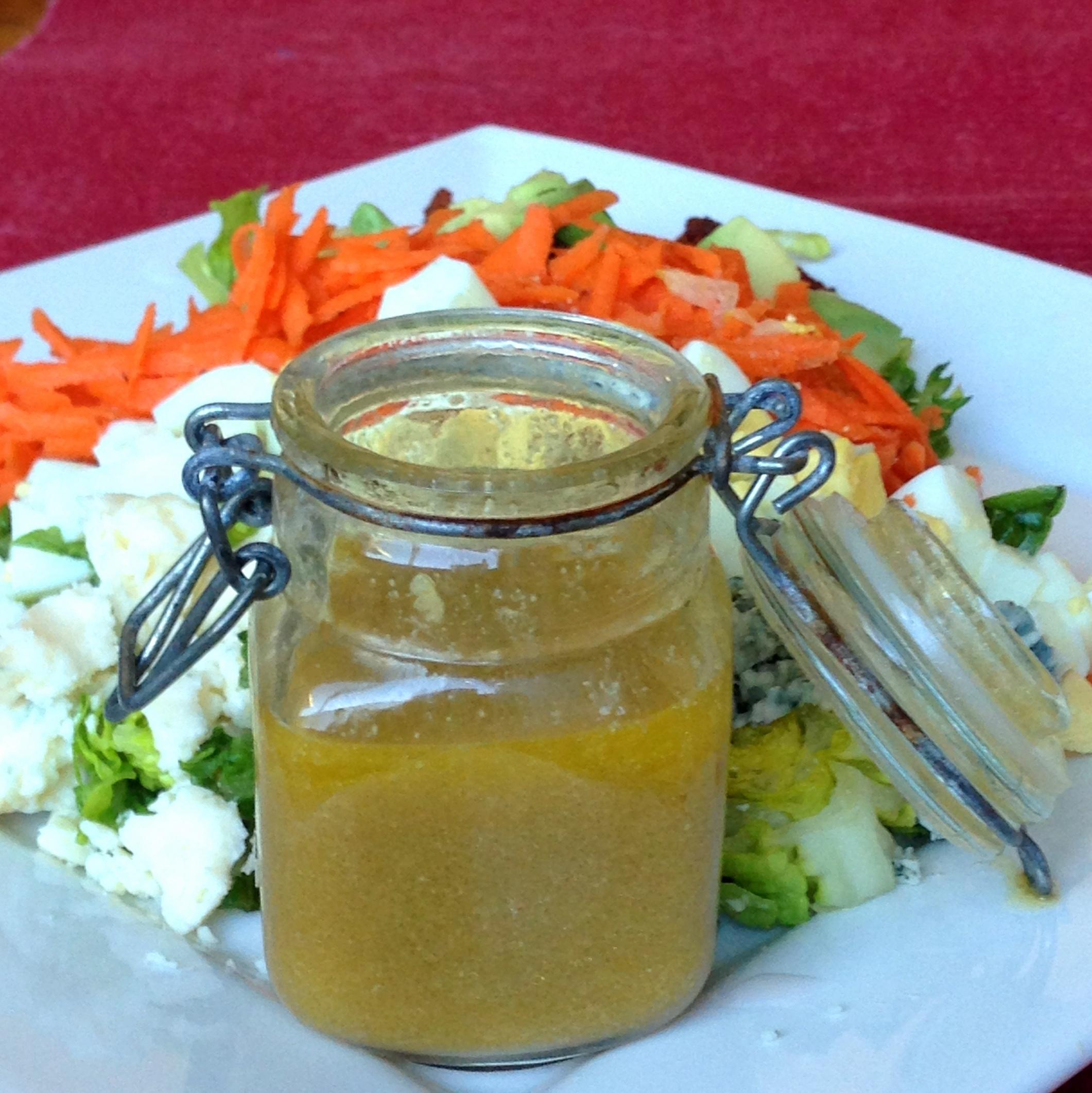 Chopped Salad with DIY salad dressing