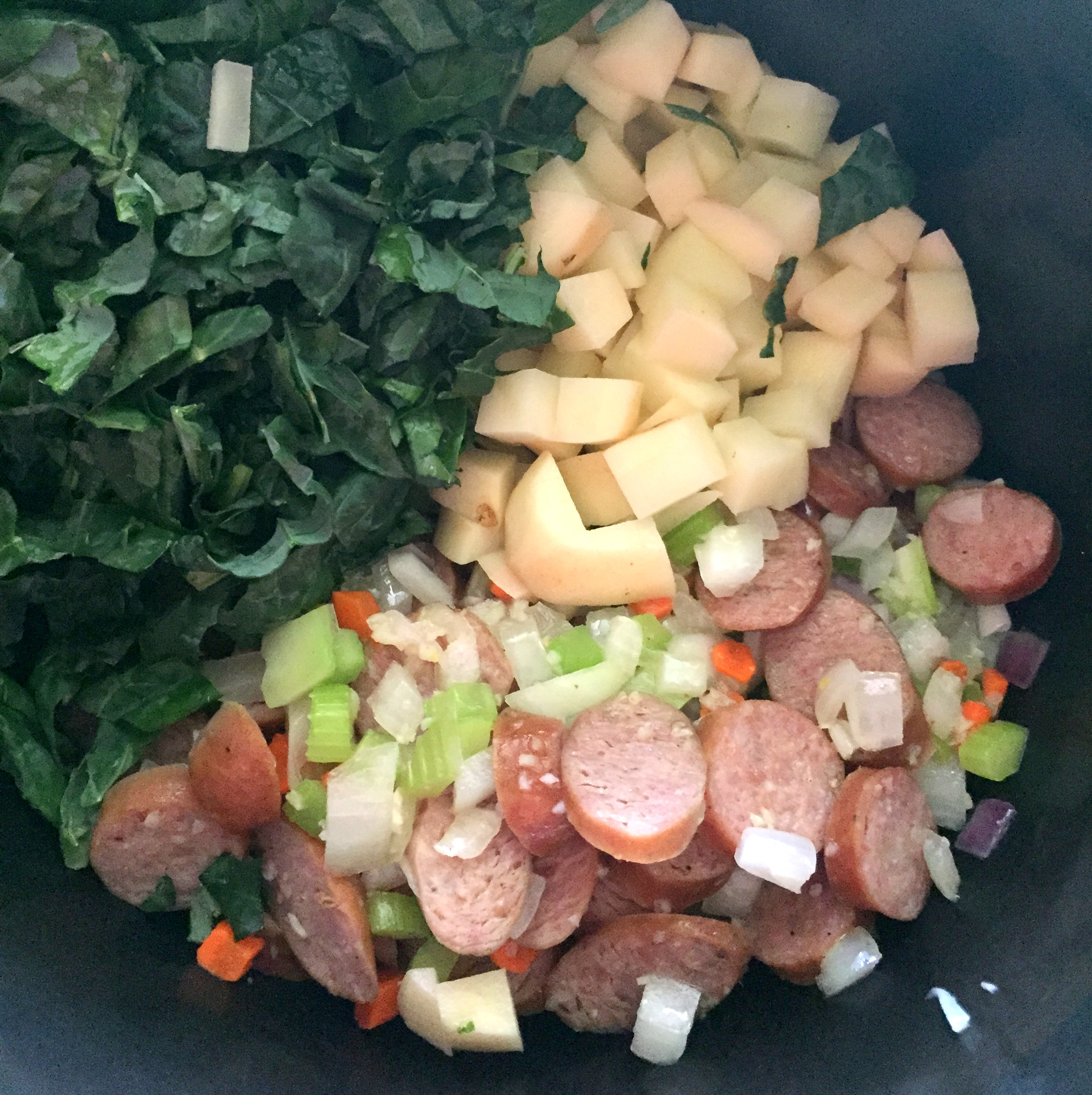 Sausage soup ing in cp