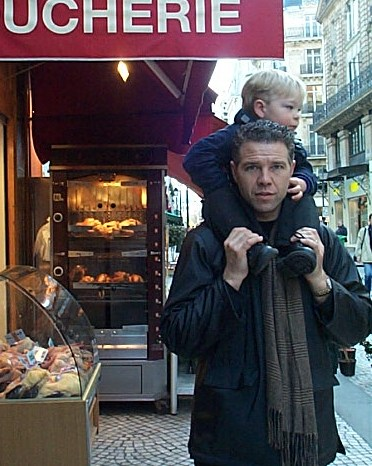 Circa 2002...Big H wasn't so Big but got to join us on second trip to france!