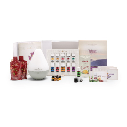 Over $300 worth of products including 10 oils, a diffuser and lots of samples of other products for only $150!