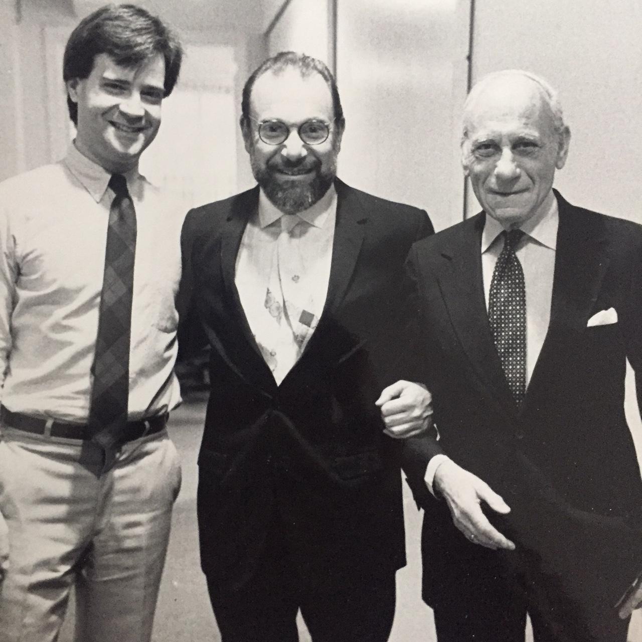 John Lee, Osvaldo Romberg, Tibor De Nagy from John's days as director of the De Nagy Gallery