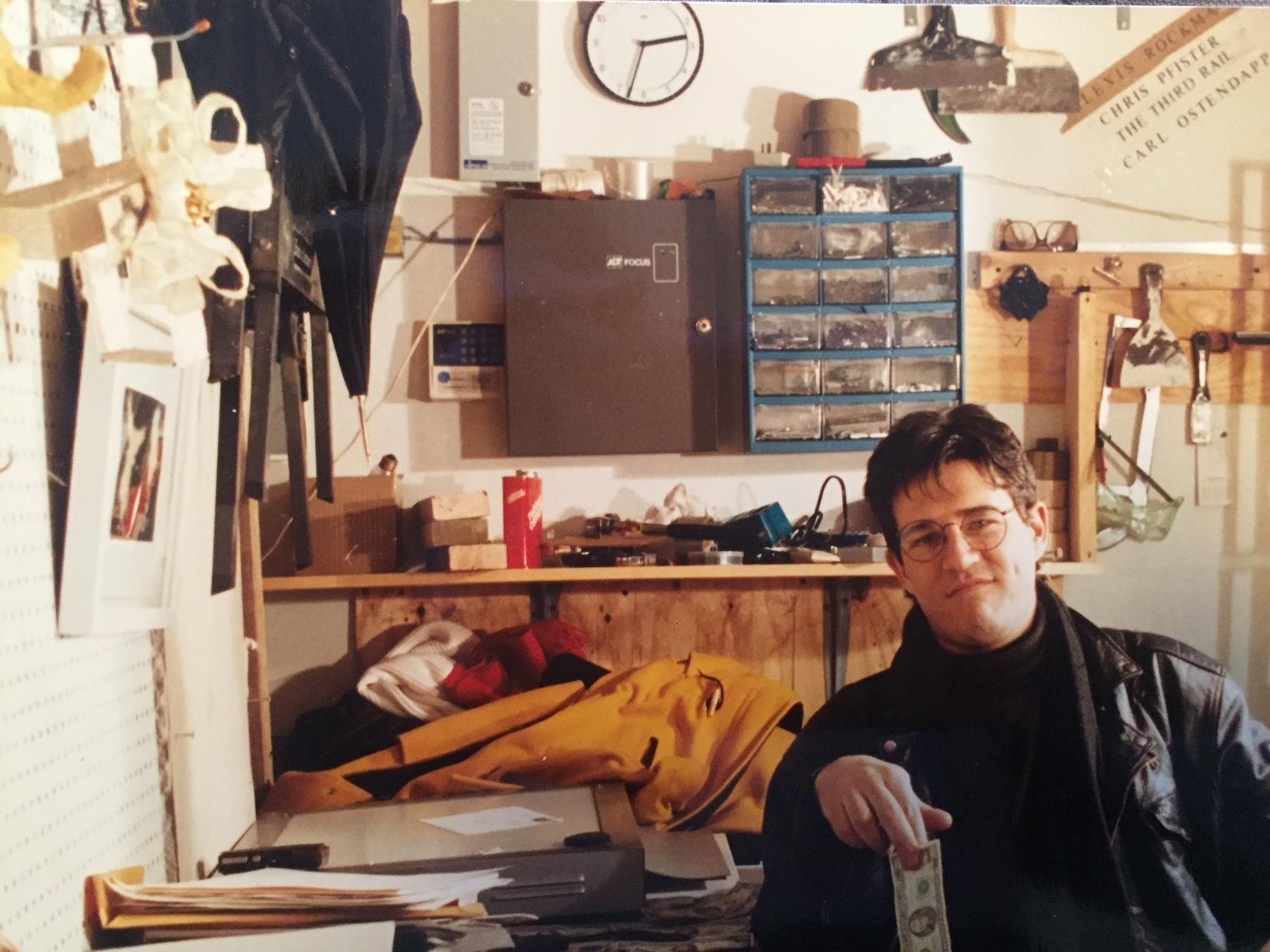Backroom of 588 Broadway with Fabian Marcaccio
