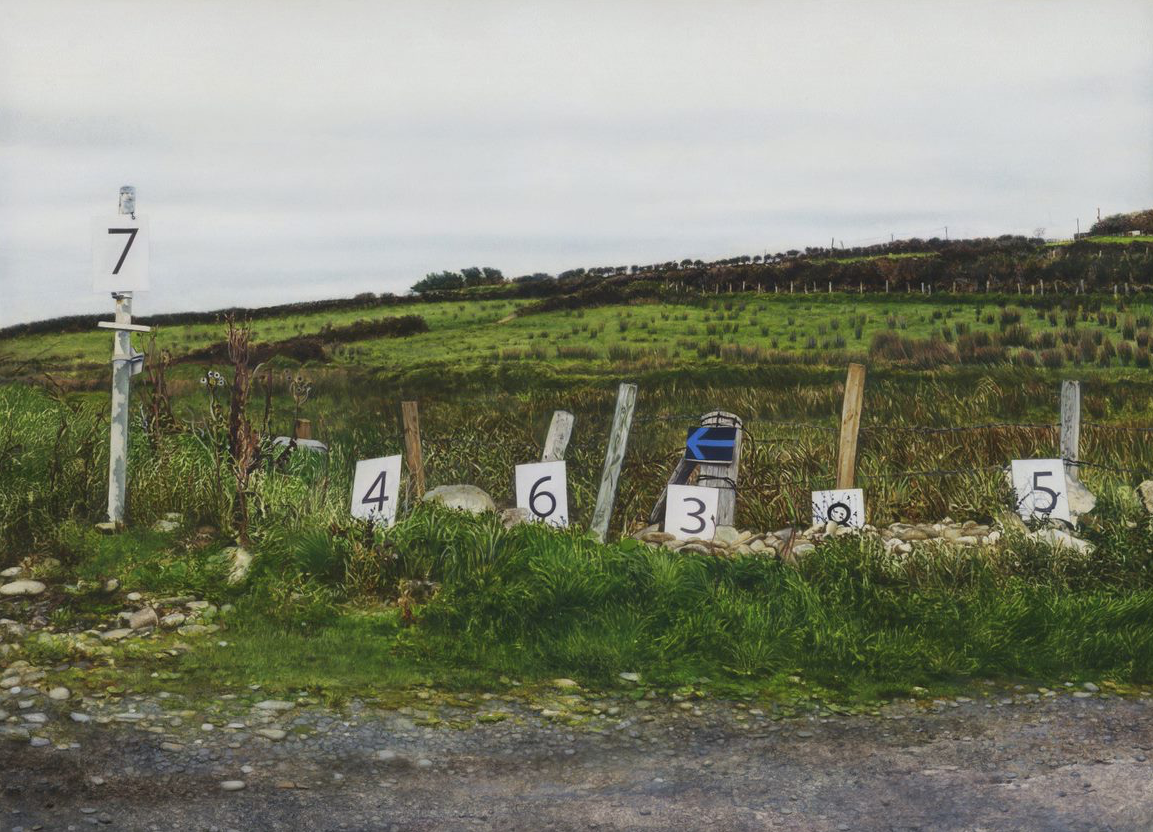 Landscape With Numbers