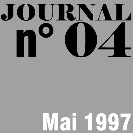 JOURNAL N°04 - MAI 1997