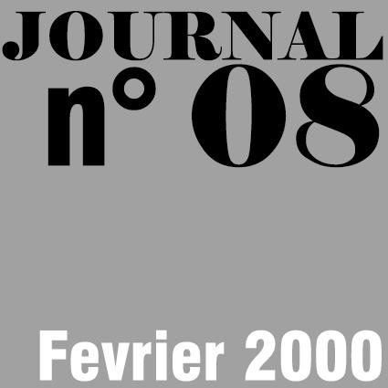 JOURNAL N°08 - FEVRIER 2000