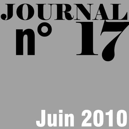 JOURNAL N°17 - JUIN 2010