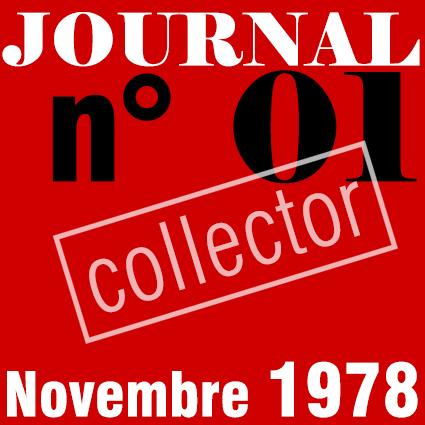PREMIER SYNDICAT / JOURNAL N°01 - NOVEMBRE 1978
