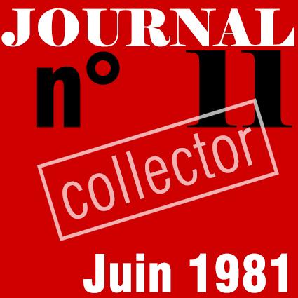 PREMIER SYNDICAT / JOURNAL N°11 - JUIN 1981