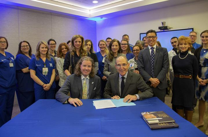 On March 8, 2019, Dr. Mark Lyons, president and CEO of Alltech, signed a memorandum of understanding with UK President Eli Capilouto to work together to advance lifelong wellness.