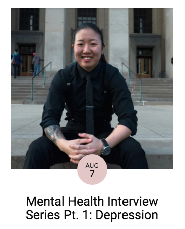 MENTAL HEALTH INTERVIEW SERIES PT. 1: DEPRESSION / MERCEDES IN THE MAKING - My depression comes and goes in waves. Sometimes, the tides are high, sometimes it's just another steady day.I go into this state of