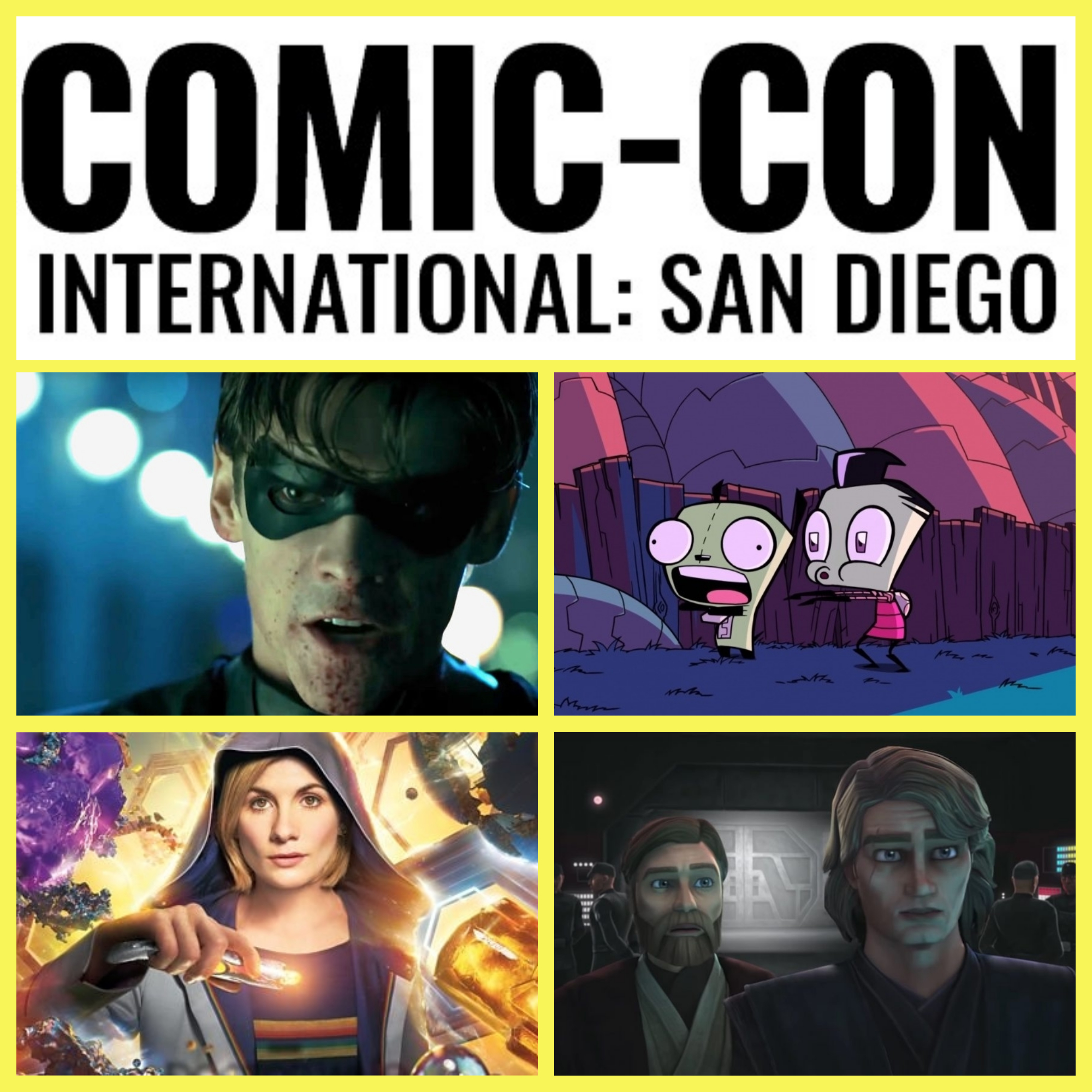 Trailer-A-Thon: Comic-Con 2018 Pt. 1 - Television! - San Diego Comic-Con 2018 has left its mark and host Serg and Patrick give their thoughts on the trailers dropped over the weekend.In this first part, the hosts cover the latest in television from the controversial