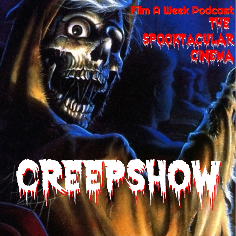 """EP. 104: """"CREEPSHOW"""" - Master of Horror George A. Romero and famed author Stephen King combine forces to create this anthology piece. Serg and Patrick crack open this tribute to EC comics as they discuss other anthology horror series, Ted Danson, Romero's legacy in horror and Stephen King's acting debut!"""