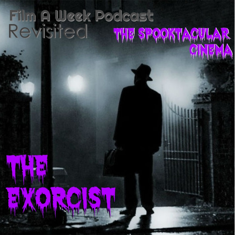 """EP. 106: rEVISITED - """"THE EXORCIST"""" w/ Nick romi - Serg guides Patrick into the world of Pazuzu and possession as he sees the film for the first time ever. Luckily, special guest director Nick Romi (""""Danger Boys: Punks in Osaka) is their to help through """"The Exorcist."""" Listen as they discuss the popularity of the film, religious horror, Linda Blair, and why this film has continued to scare for ages."""