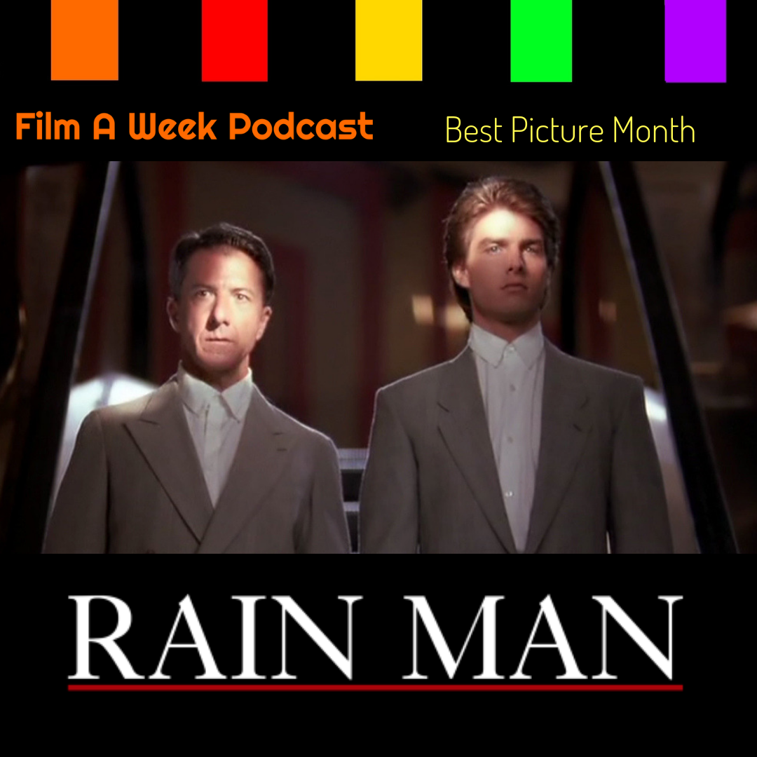 "EP. 113: ""Rain Man"" - 30th anniversary - Host Serg Beret watches ""Rain Man"" for the first time to talk about the terrific chemistry between Dustin Hoffman and Tom Cruise in the 1988 classic. Patrick and Beret also discuss the films handling of autism and their personal stories about friends and family with autism. (Dec. 14)"