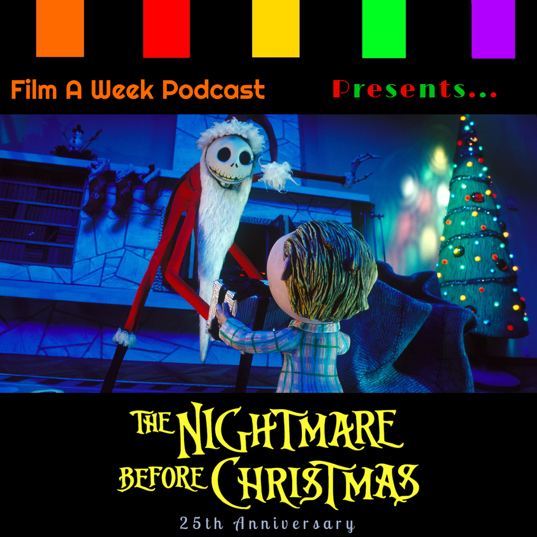 "PResents…""The nightmare before christmas"" 25th anniversary - Hosts Serg Beret, Patrick Raissi and Matthew Reveles celebrate the animated classic by making Christmas theirs with the 25th Anniversary of Tim Burton's ""The Nightmare Before Christmas."" Listen as we discuss the enduring cult phenomenon and how a certain bat allowed Henry Selick to direct. (Christmas Eve)"