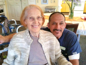 At 103 years young, Leslee lives in our Friends House Assisted Living community and is engaged in the vibrant programs throughout the campus.