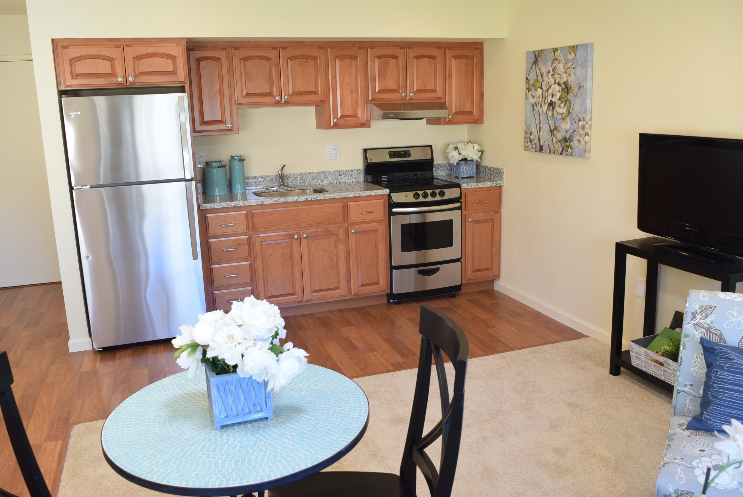 Independent Living 1 Bedroom with Full Kitchen  Entry Fees starting at $147,000.