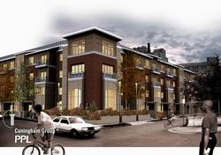 """The Greenway at Midtown"" townhomes"
