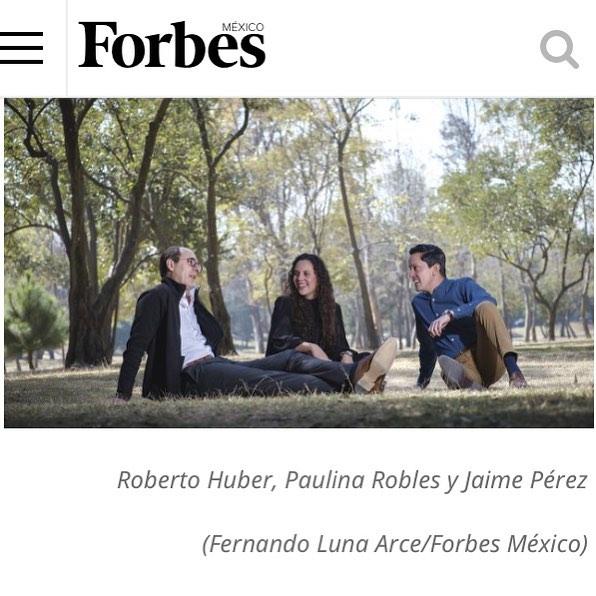 Aquí la nota de @plantica.ciudadesvivas y @parcellla en @forbesmexico . ¡Felicidades a todo el equipo y a @luisavalenzuela ! . www.forbes.com.mx/negocio-y-beneficio-para-el-ambiente