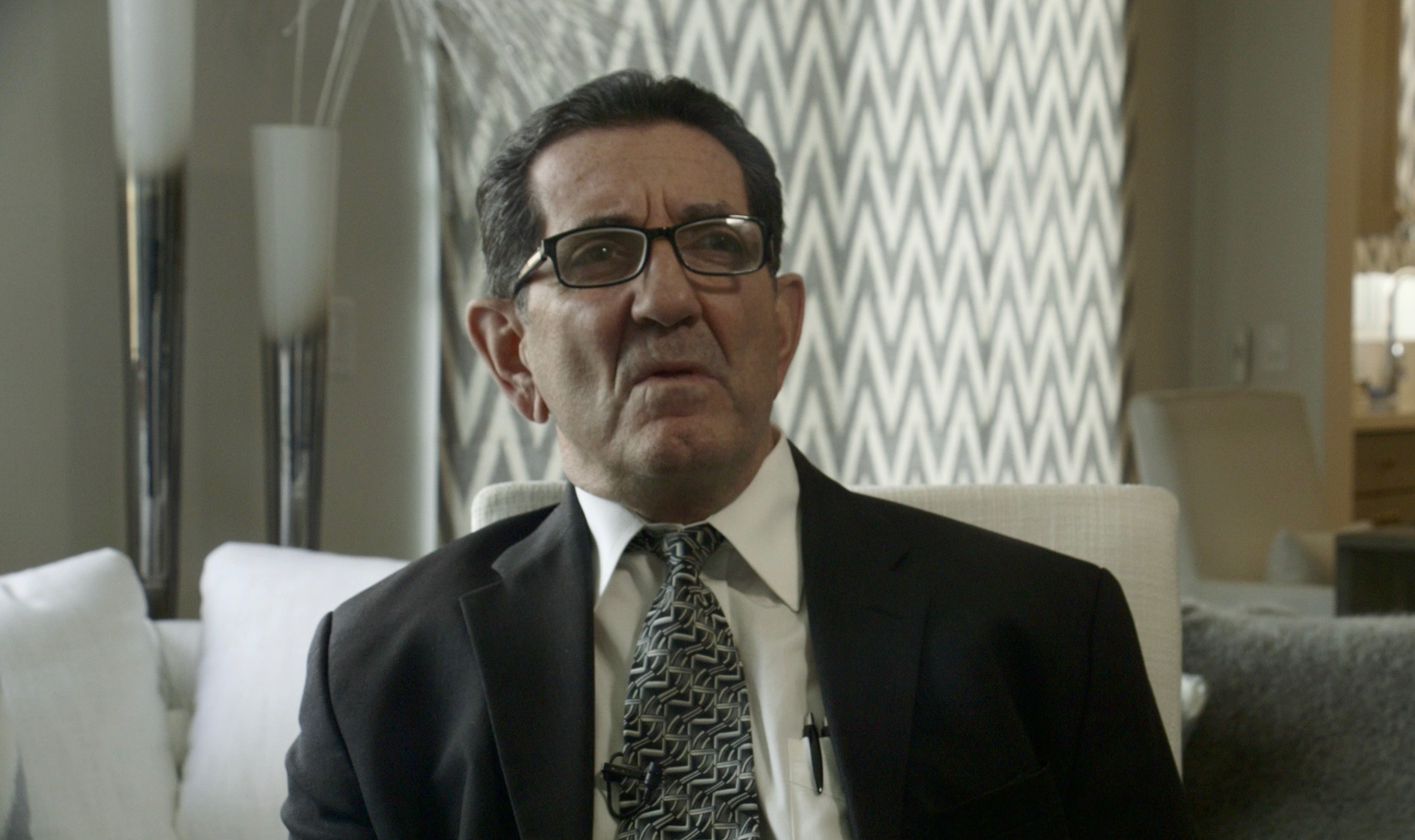 Louis Pilato in 2018 being interview for the first time about the case since it happened.