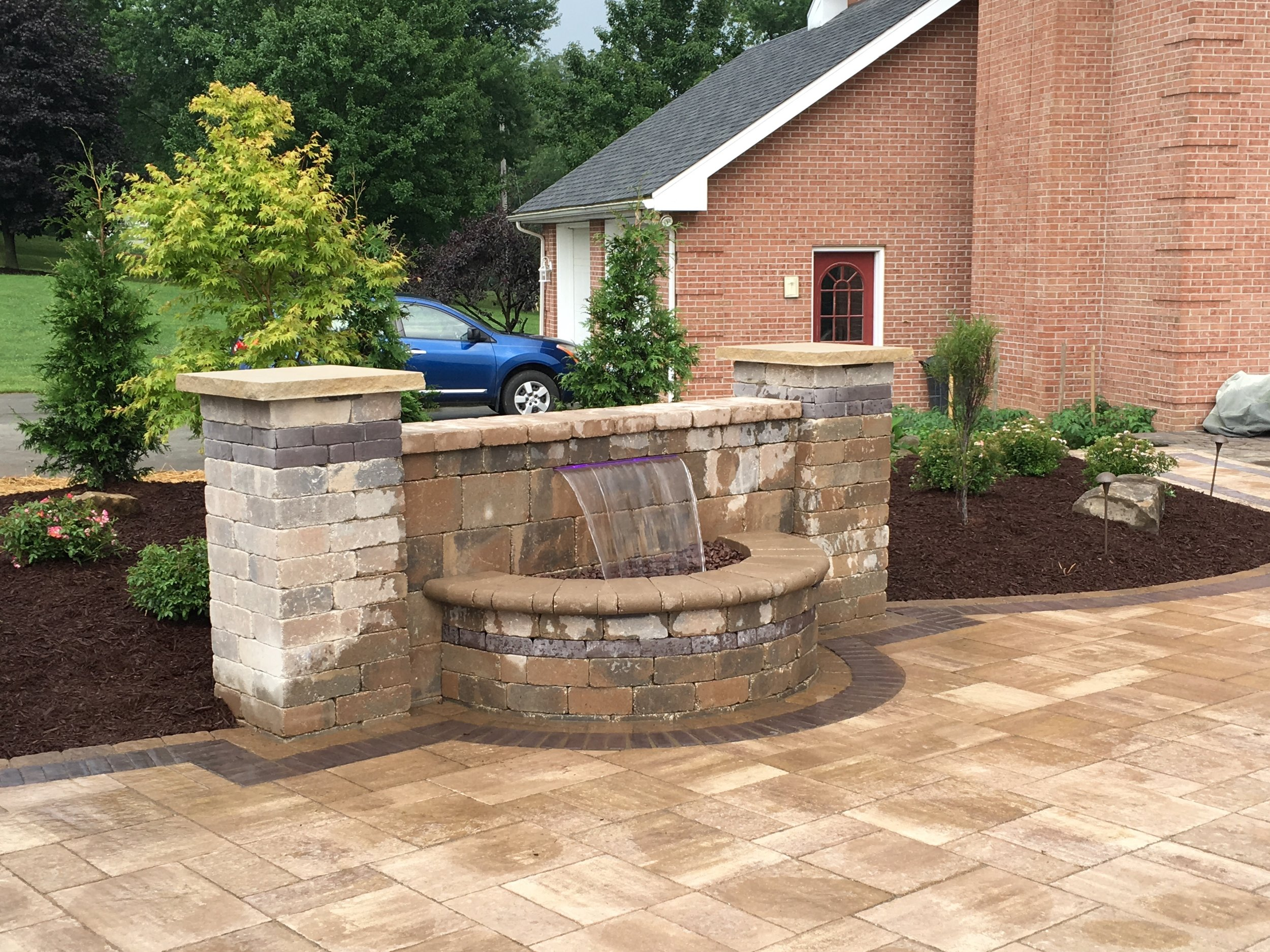 Hardscape installation including driveways and patios in Murrysville, PA