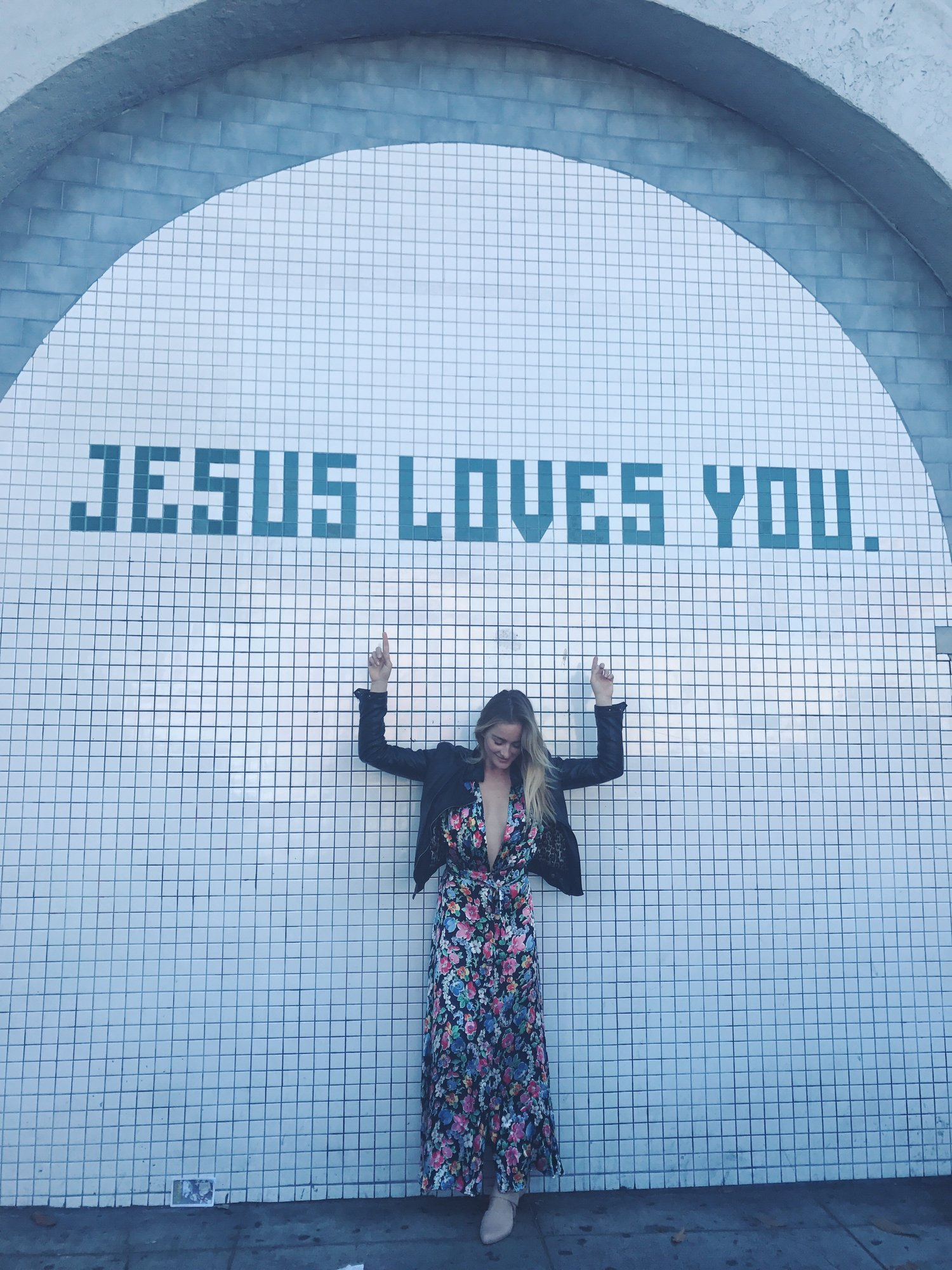 Having fun in the Mission with my BFF // you are loved!