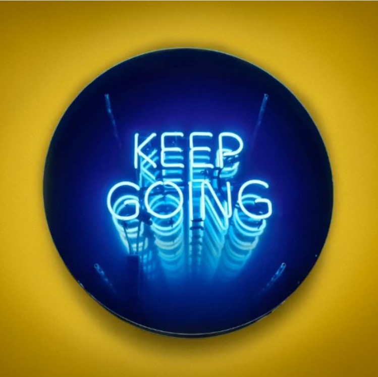 Keep Going by  Endeavour Neon