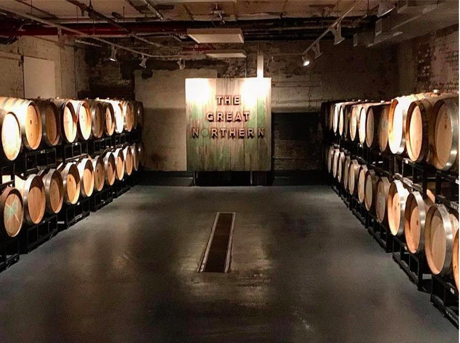 A barrel full of beer might just cause a barrel full of laughs we think. Photo:  Evil Twin Brewing/Facebook