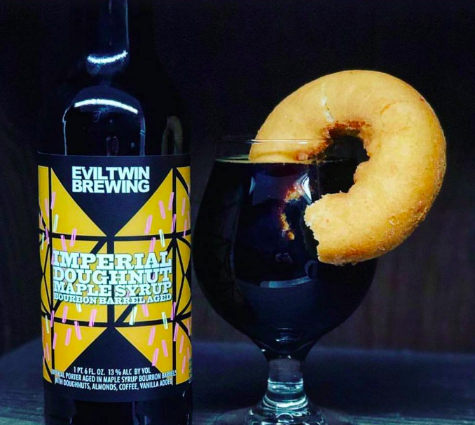 Time to make the donut..beer. Photo Credit:  Evil Twin Brewing/Facebook