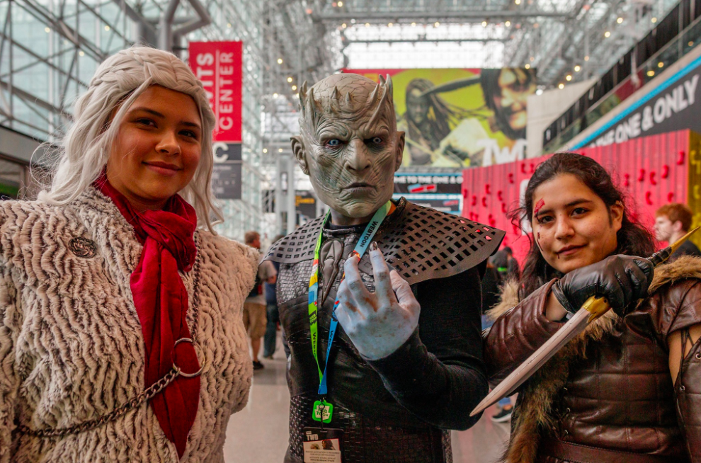 The three best friends anyone can have. Photo:  NY Comic Con/Facebook